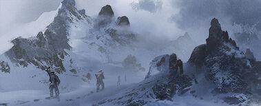 Heavy snowing by soldatnordsken-d8ap5em