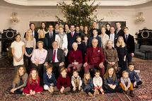 2014 Danish Greek Royal Family Christmas 1