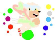Super Hyper Sonic the Hedgehog Drawing