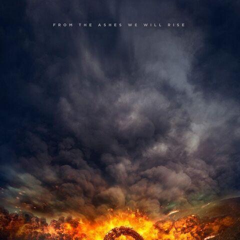 Offizielles Poster der vierten Staffel The 100  <sub></sub>