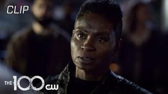 The 100 Season 7 Episode 5 Indra Has A Tense Meeting With The Faithful Scene The CW