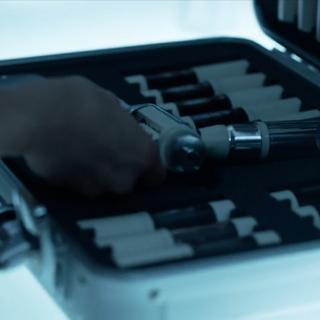 Der Koffer mit den Injektionen