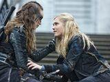 Clarke e Lexa