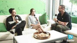 Eliza Taylor e Richard Harmon di The 100 con i pensieri su Clarke, Murphy Sopravvissuto & Altro TV Insider