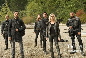 S601 first look- Shaw, Jackson, Echo, Bellamy, Clarke, Miller