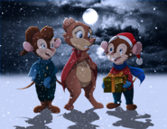 A very brisby christmas by whitelionwarrior-d5oehp5