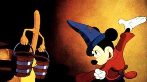 Fantasia Irwin Kostal Soundtrack (1982) The Sorrcerer's Apprentice
