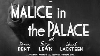 Malice In The Palace official upload