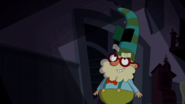 S1e17a a hatch on doc's hat reveals...