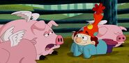S2e03a dopey and the pigs