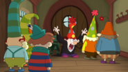 S1e22a Dopey Tells the Dwarfs About the Bear