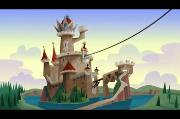 Queen Delightful's Castle in Surprise
