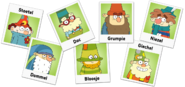 The 7D's Dutch Names