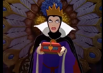 Evil queen's chest in 1937 snow white film
