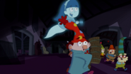 S1e17a ghost girl scares everyone out 2