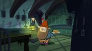 S1e17a grumpy walks into the kitchen