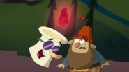 S1e24 singing scroll tells grumpy about the red gem