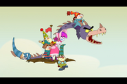 S1e13 The 7D and Hildy Return Baby Dragon and Rescue Grim 7