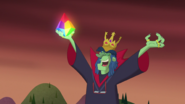 S1e24 rock glows on grudgemunger's hand