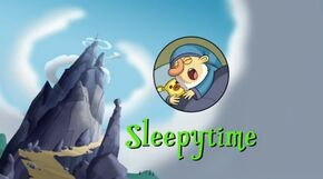 Sleepytime title card