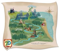 Jollywood Map