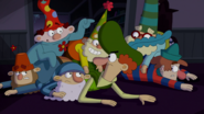 S1e17a dopey says he ran because of happy