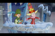 Queen Delightful and Starchbottom on Frozen Castle 1