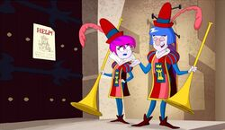 S2e12b the glooms as court jesters