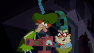 """S1e17a """"my hat comes with extra trunk space."""""""