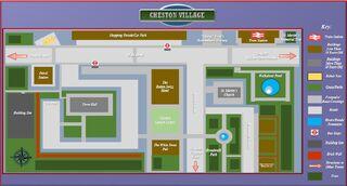 Cheston Village Reference Map
