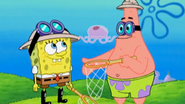 SpongeBob, Patrick and the Jellyfish