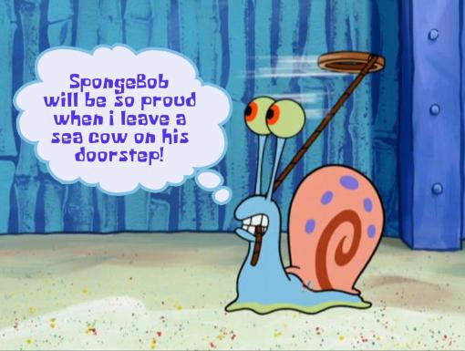 Image Spongebob if gary could talk 8jpg THE ADVENTURES OF GARY