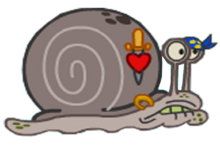 Mary's Ex boyfriend in Have You Seen This Snail-