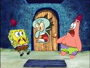 Spongebob, Squidward, & Patrick