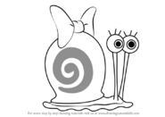 How-to-draw-Snellie-the-Snail-from-SpongeBob-SquarePants-step-0