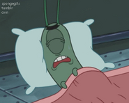 Plankton Having Nightmares