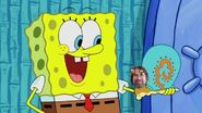 Dani Michaeli's face in SpongeBob SquarePants