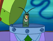 Plankton's Disguise.