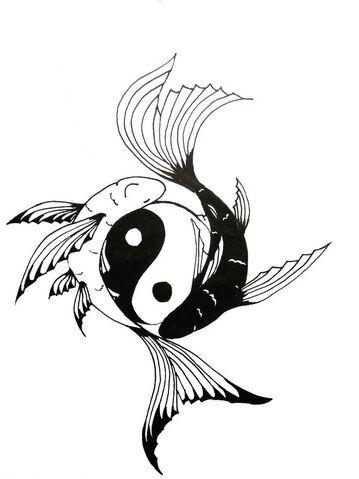 File:Yin yang and the fish by wearemarshal.jpg