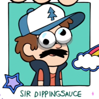 Dipper pines fake id sir dippingsauce close up rotated 350x350