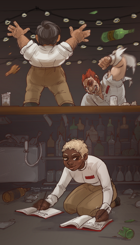File:Bar fight by Jeinu.png