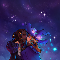 Taako (and Kravitz) by <a rel=