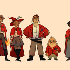 The Red Robes by <a rel=