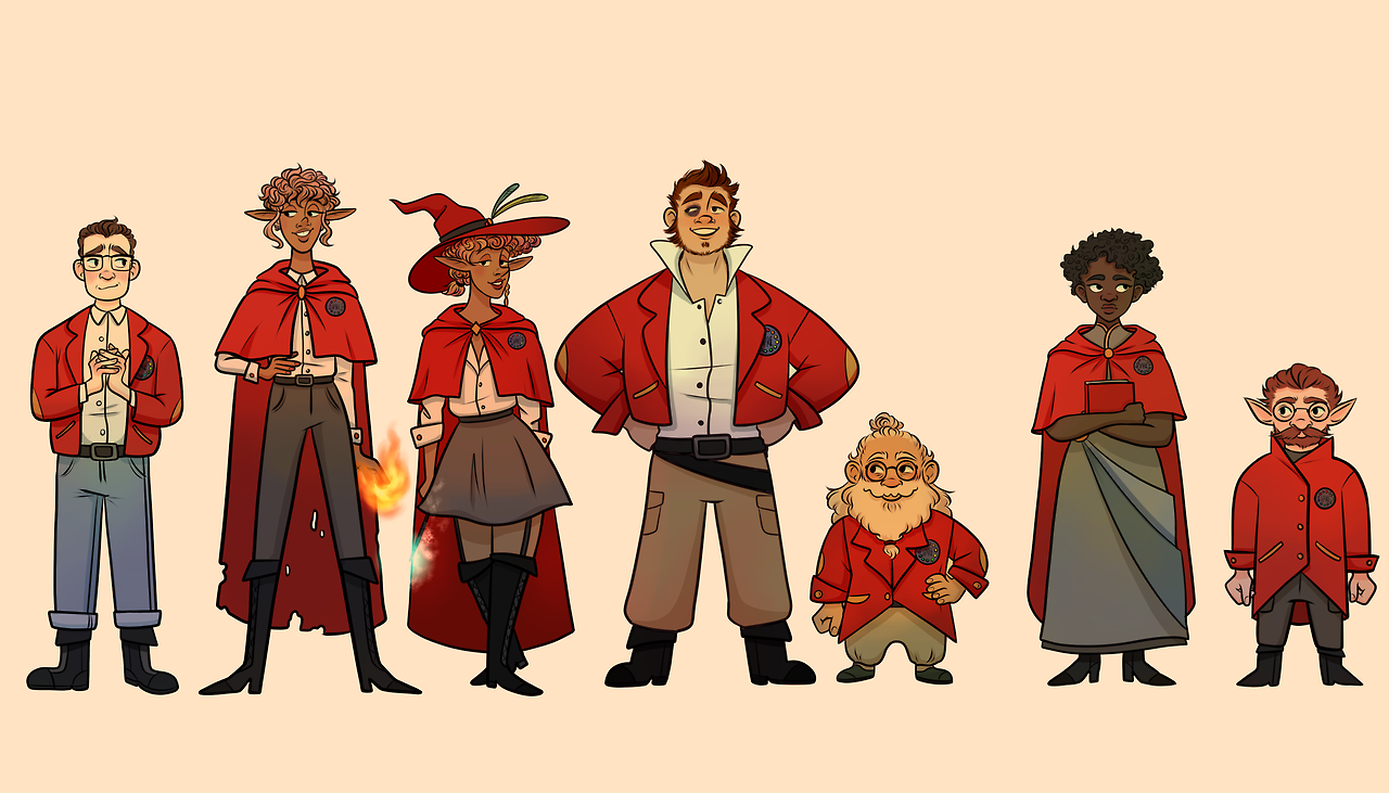 image red robes by becpng png the adventure zone wiki fandom