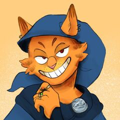 Garfield the Deals Warlock by <a rel=