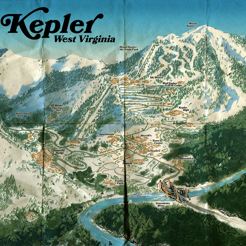 Tourist map of Kepler, by <a  class=