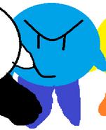 Blue Kirby close up