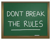 Dont break the rules