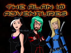 Alan 10 Adventures Poster