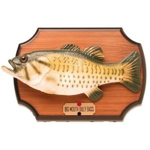 Big mouth billy bass the original singing fish the all for Big mouth fish